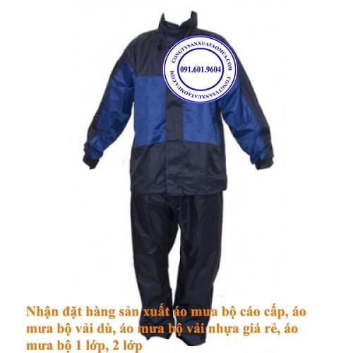 công ty sản xuất áo mưa bộ cao cấp tại hà nội, cơ sở sản xuất áo mưa bộ vải dù giá rẻ, áo mưa bộ 1 lớp, áo mưa bộ 2 lớp, áo mưa bộ vải nhựa pvc giá rẻ