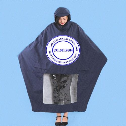 Sản xuất áo mưa tại hà nội, công ty sản xuất áo mưa giá rẻ, cơ sở sản xuất áo mưa cánh dơi vải dù tại hà nội, xưởng sản xuất áo mưa uy tín chuyên nghiệp