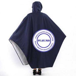 Cơ sở sản xuất áo mưa cánh dơi vải dù siêu nhẹ, xưởng may áo mưa vải dù cao cấp, áo mưa cánh dơi vải nhựa rạng đông giá rẻ
