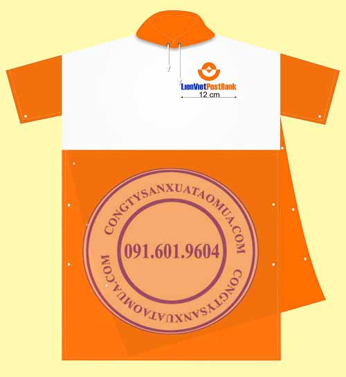 Xưởng chuyên sản xuất áo mưa giá rẻ tại Hà Nội, Bắc Ninh, Bắc Giang, Hưng Yên, Vĩnh phúc, Thái Nguyên