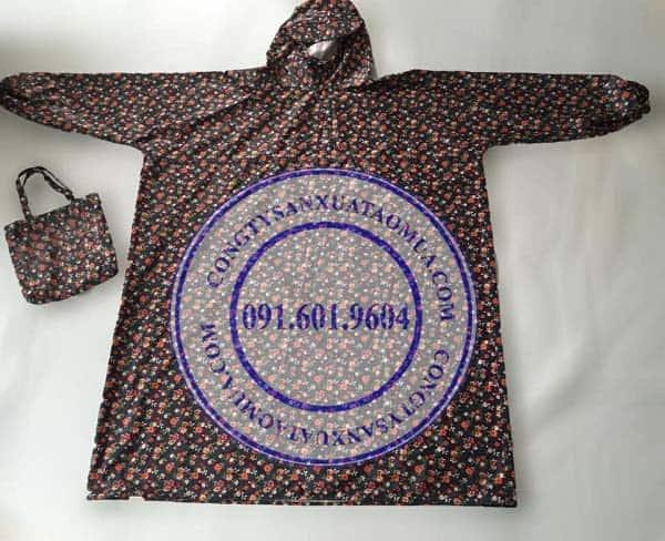 xưởng may áo mưa quà tặng uy tín chuyên nghiệp, công ty chuyên sản xuất áo mưa quà tặng giá rẻ tại hà nội