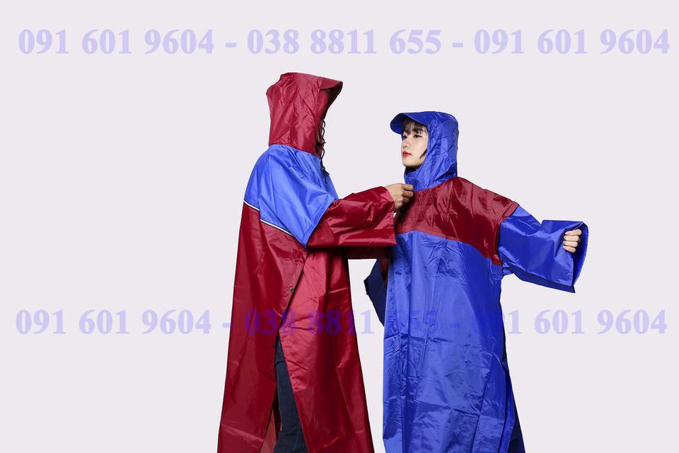 áo mưa cài cạnh