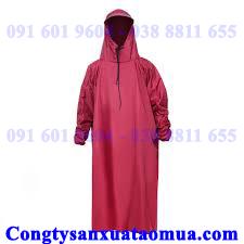 Sản xuất áo mưa bít