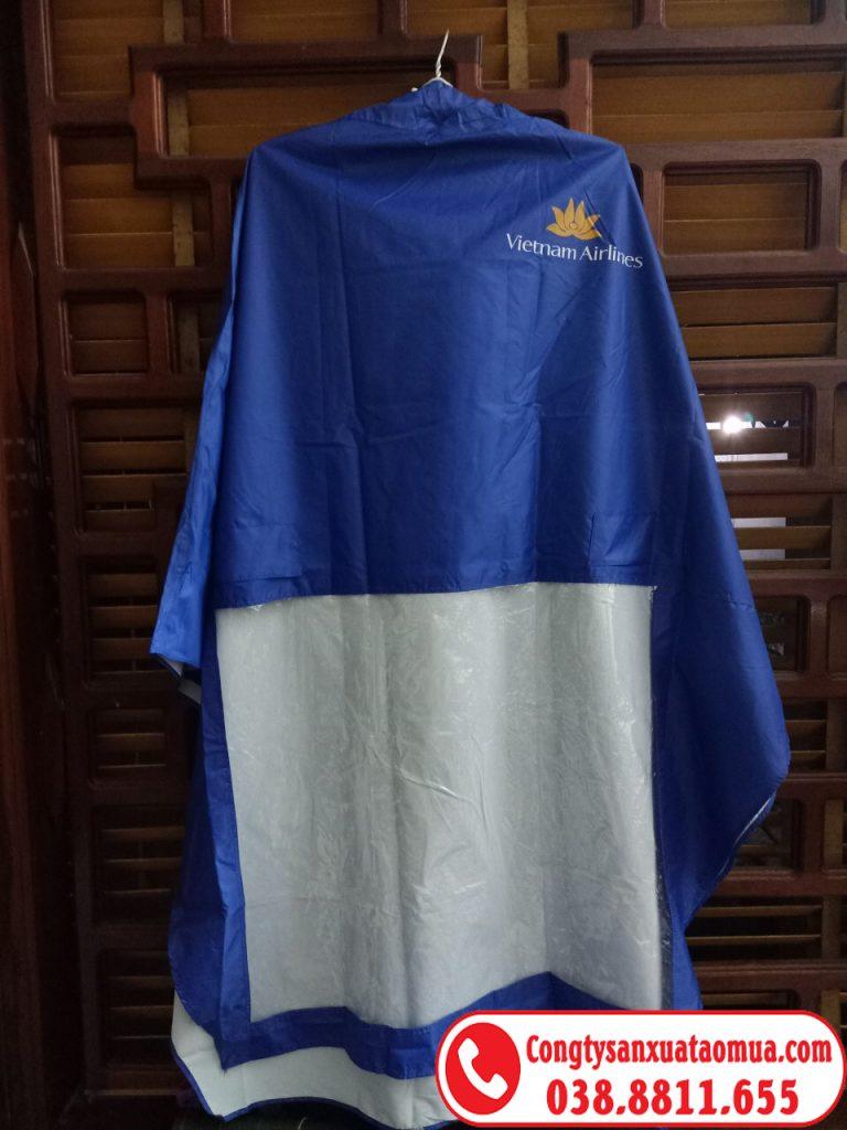 áo mưa quà tặng của Vietnam airlines