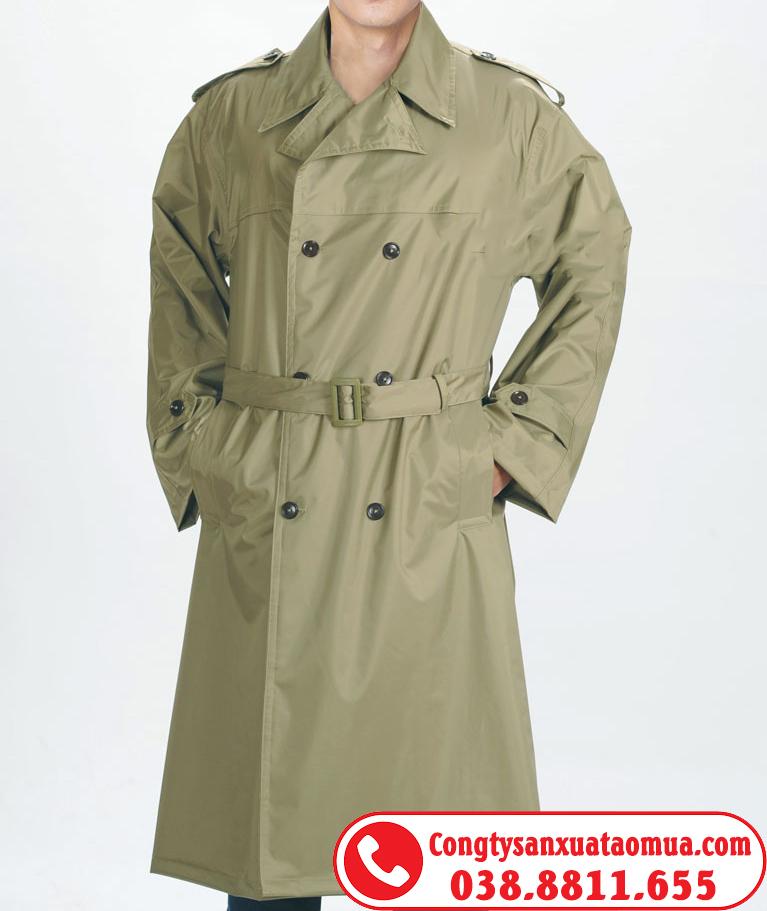 áo mưa măng tô choàng quân đội
