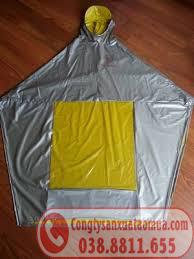 Mẫu áo mưa nhựa haida