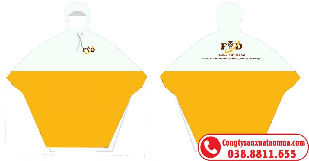 Sản xuất áo mưa nhựa rẻ