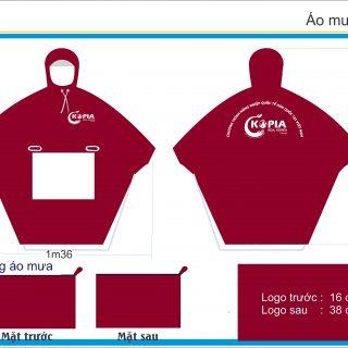 Sản xuất áo mưa quà tặng tết 2020