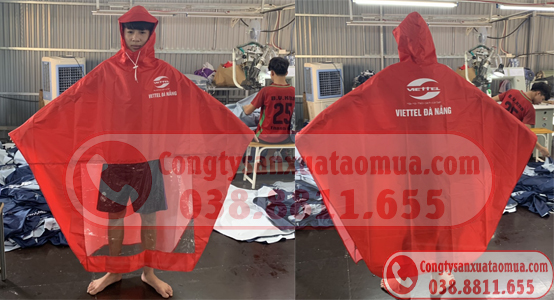 Sản xuất áo mưa quà tặng