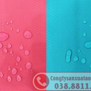 Sản xuất áo mưa dù vân tổ ong
