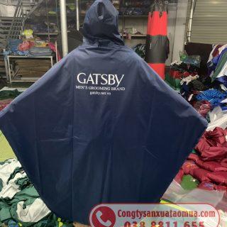 Sản xuất áo mưa in logo thương hiệu
