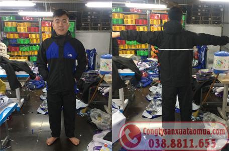 Sản xuất áo mưa bộ quà tặng ở Hà Nội