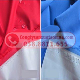 May áo mưa dù tráng Pu siêu nhẹ in logo