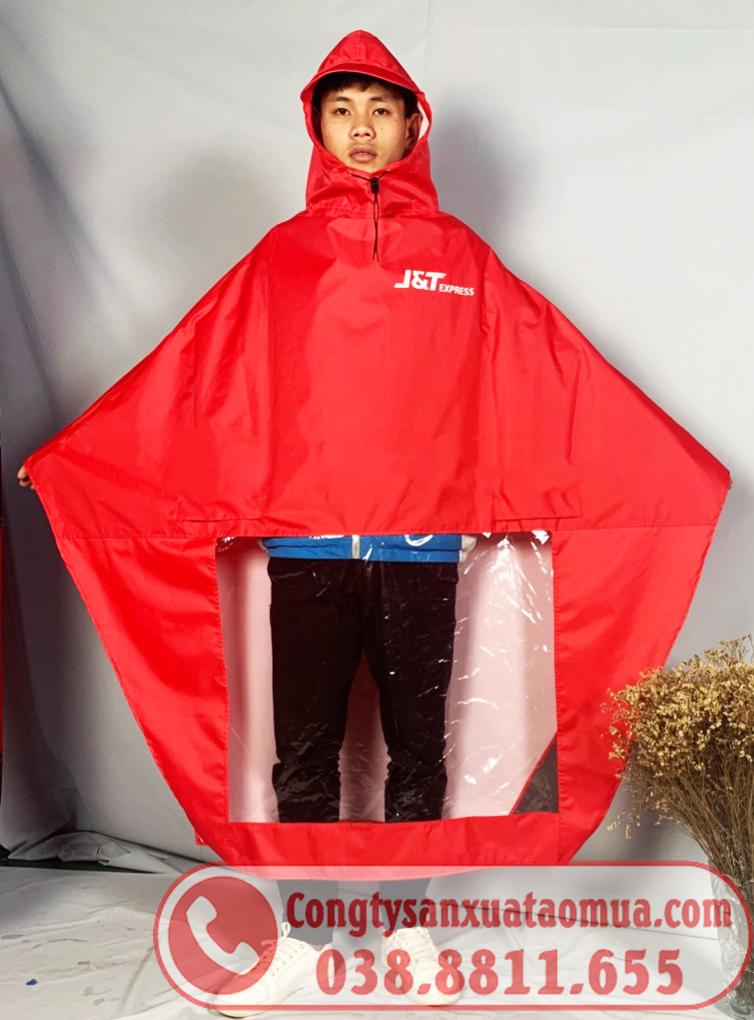 Đặt may áo mưa quà tặng in logo