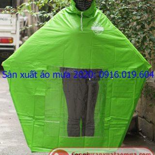 Báo giá sản xuất áo mưa in logo 2020