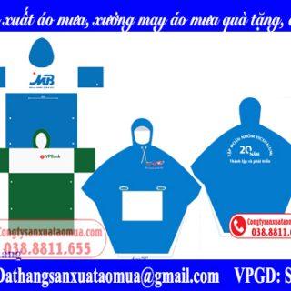 Công ty sản xuất áo mưa, xưởng may áo mưa quà tặng tại Hà Nội