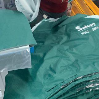 Xưởng sản xuất áo mưa tặng công nhân in logo công đoàn
