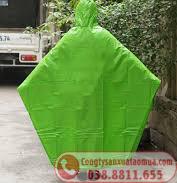Áo mưa cánh dơi một đầu vải nhựa PVC