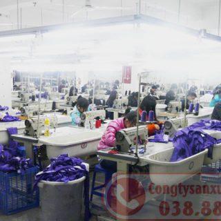 Xưởng may áo mưa tại Hà Nội