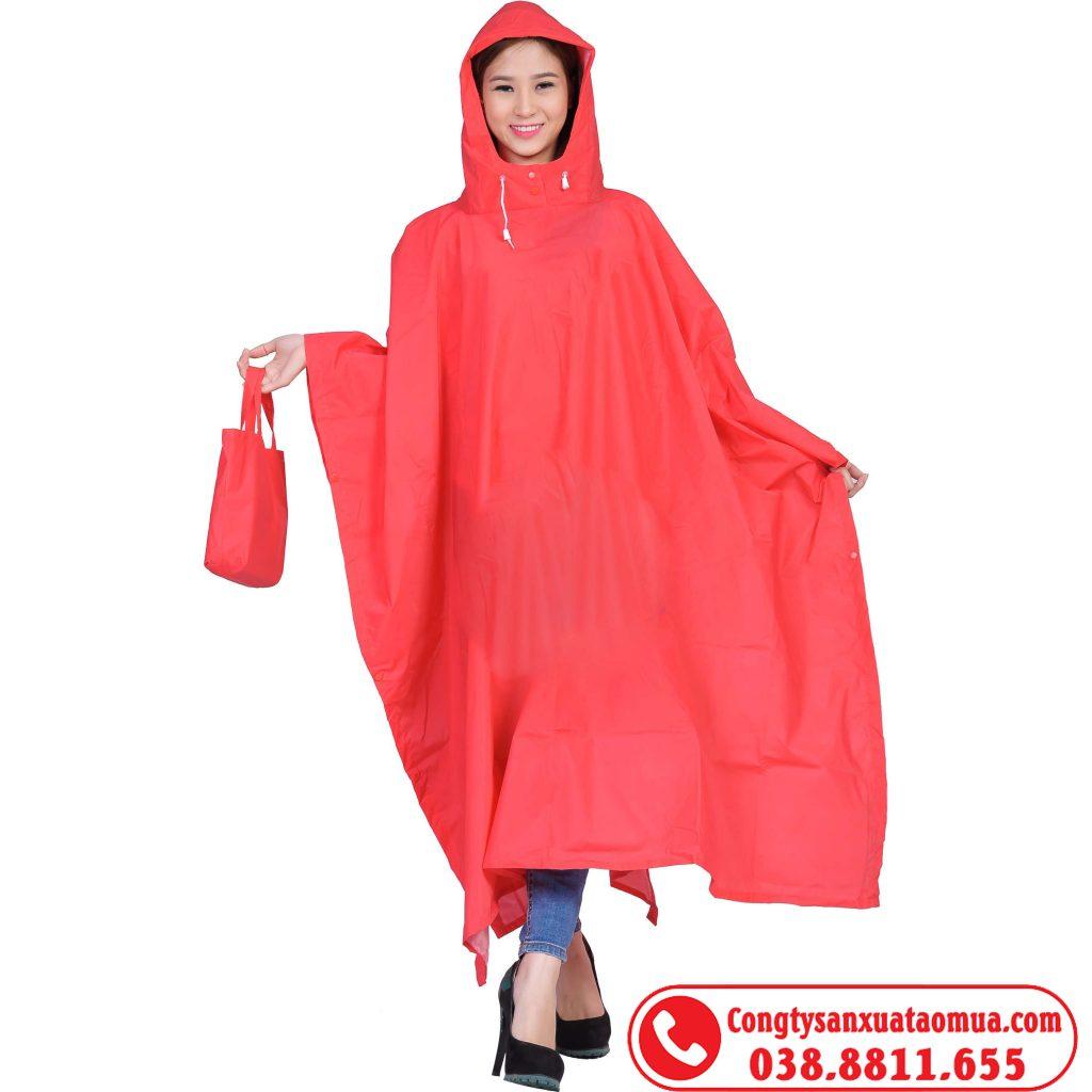 Xưởng may áo mưa tại Hà Nội nhận in áo mưa theo yêu cầu khách hàng