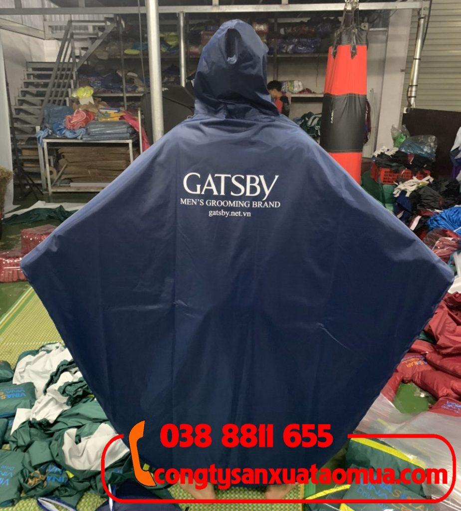 Sản xuất áo mưa quà tặng thương hiệu