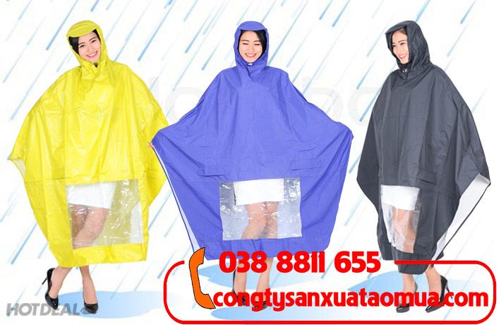Sản xuất áo mưa cánh dơi tại Hà Nội