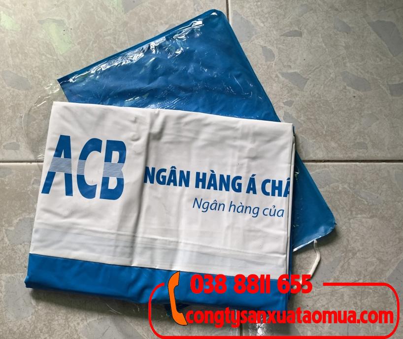 Cung cấp áo mưa quà tặng cho các ngân hàng