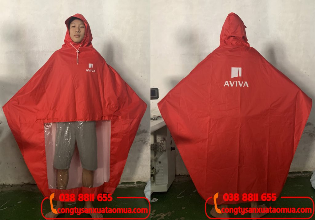 Cung cấp áo mưa quà tặng thương hiệu