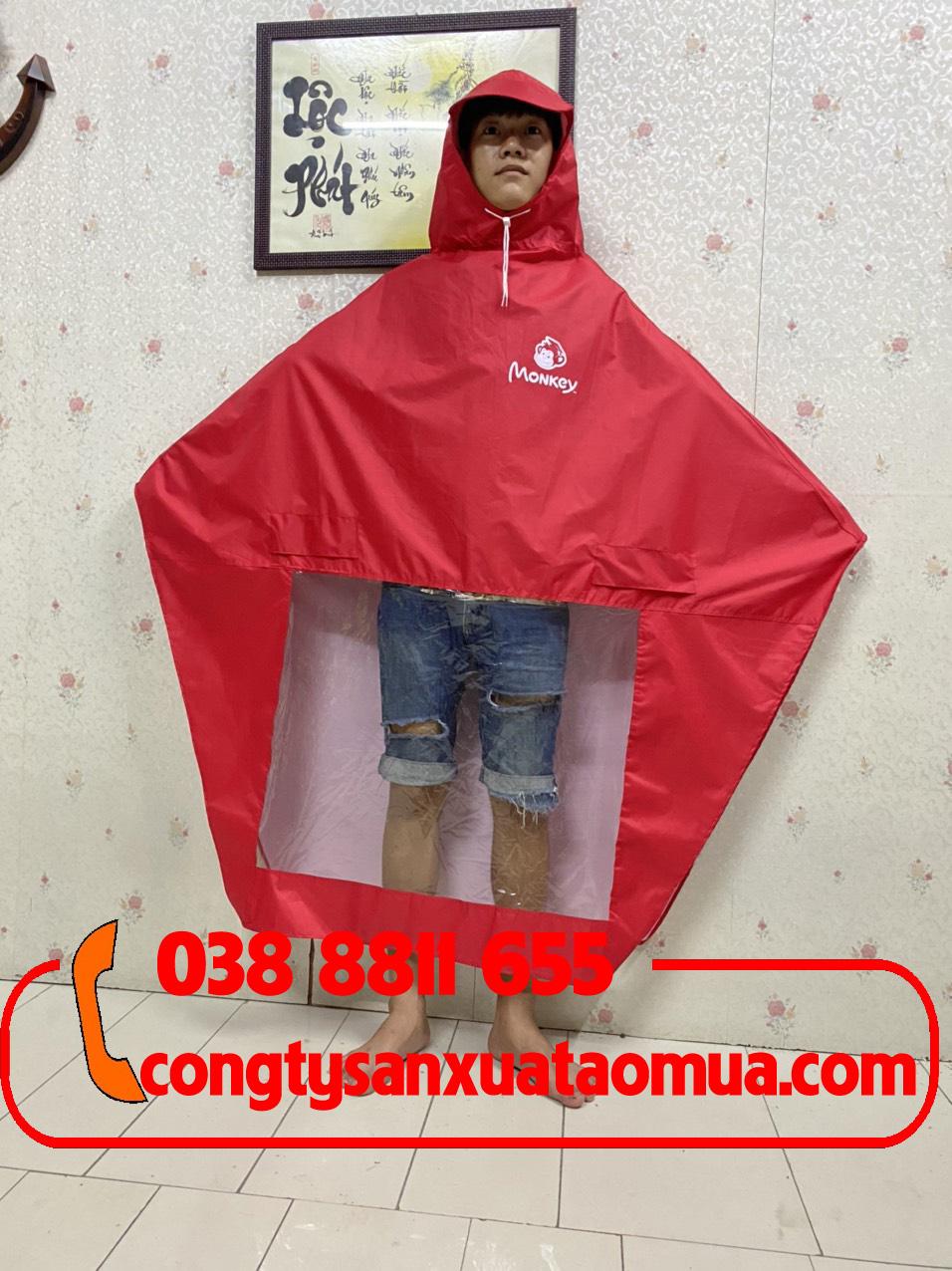 may áo mưa quà tặng trung tâm tiếng anh