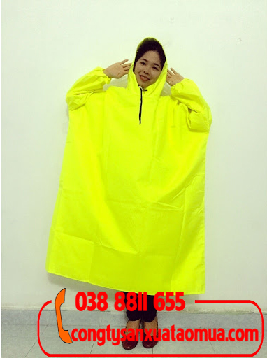 Xưởng sản xuất áo mưa bít hông giá rẻ tại Hà Nội