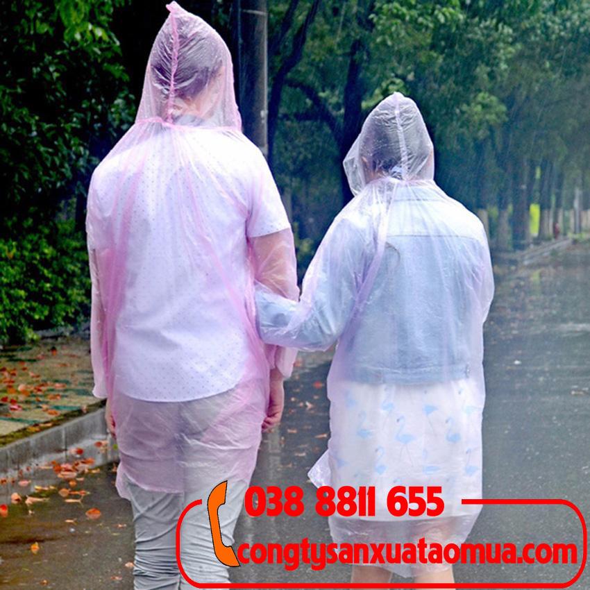 Sản xuất áo mưa tiện lợi, áo mưa dùng 1 lần