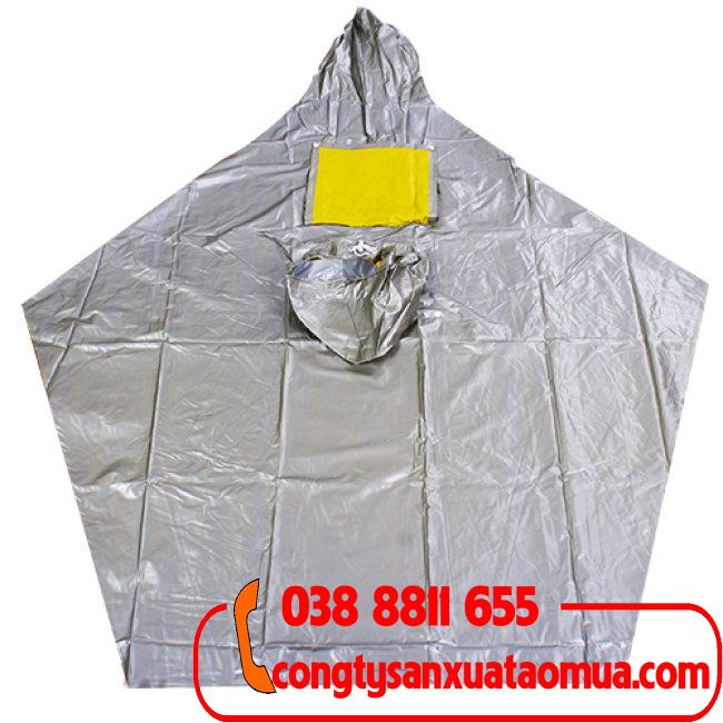 Sản xuất áo mưa cánh dơi chất liệu nhựa dán haida loại 2 đầu
