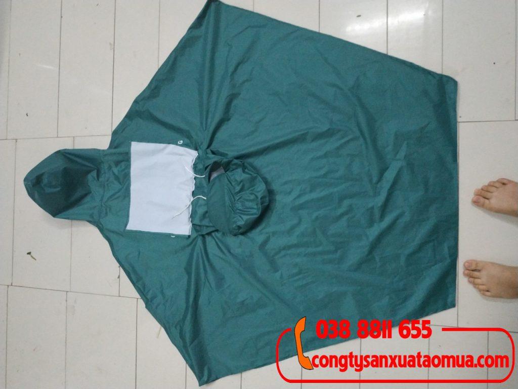 Sản xuất áo mưa cánh dơi 2 đầu