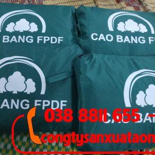 Sản xuất áo mưa quà tặng quỹ phát triển rừng tại tỉnh cao bằng