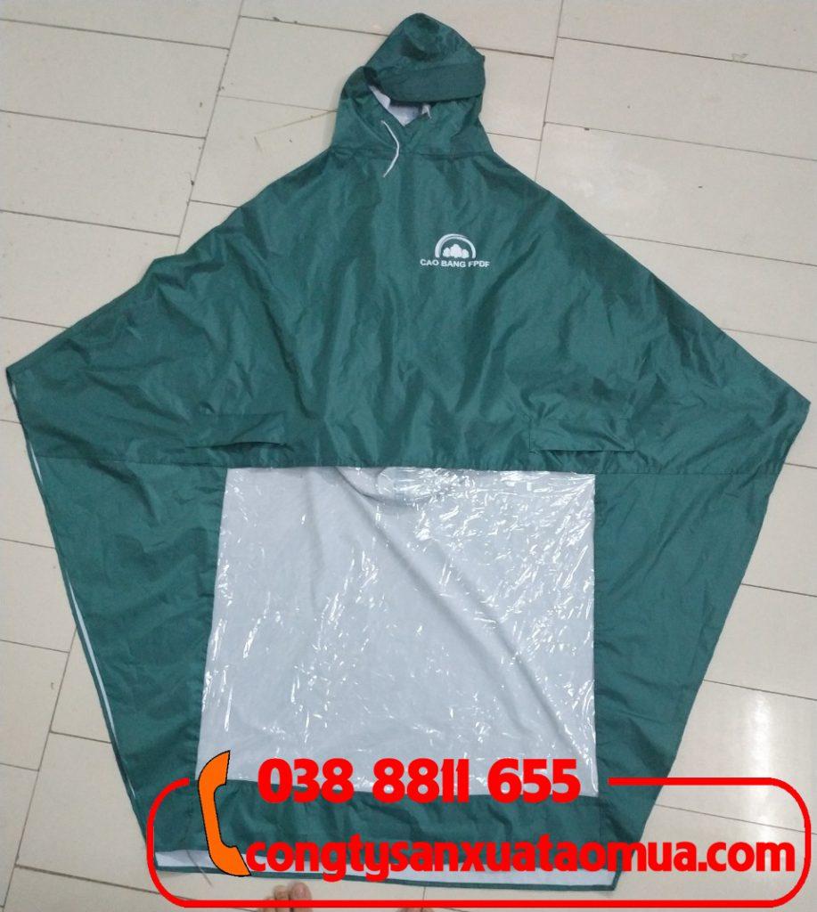 Xưởng nhận may áo mưa quà tặng cho các công ty đơn vị tại Cao Bằng