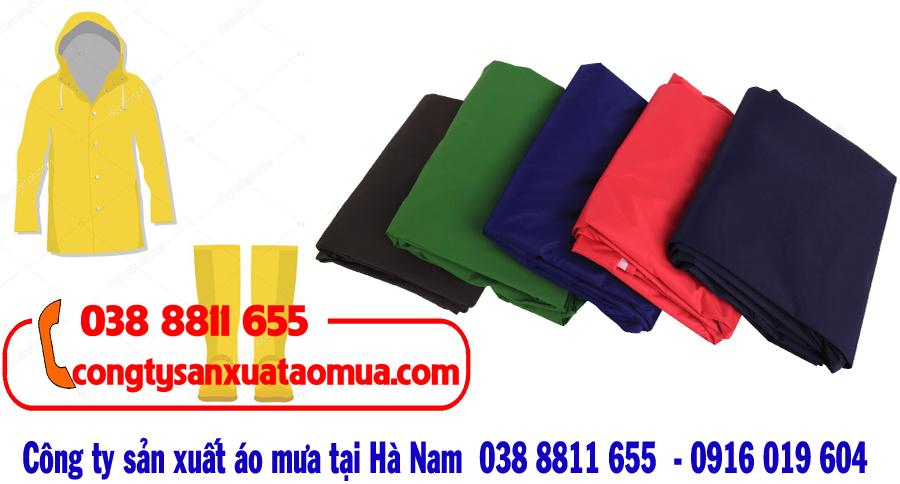 sản xuất áo mưa tại Hà Nam