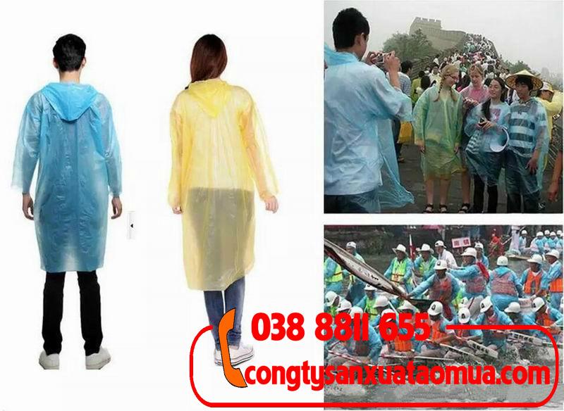 xưởng dán áo mưa tiện lợi