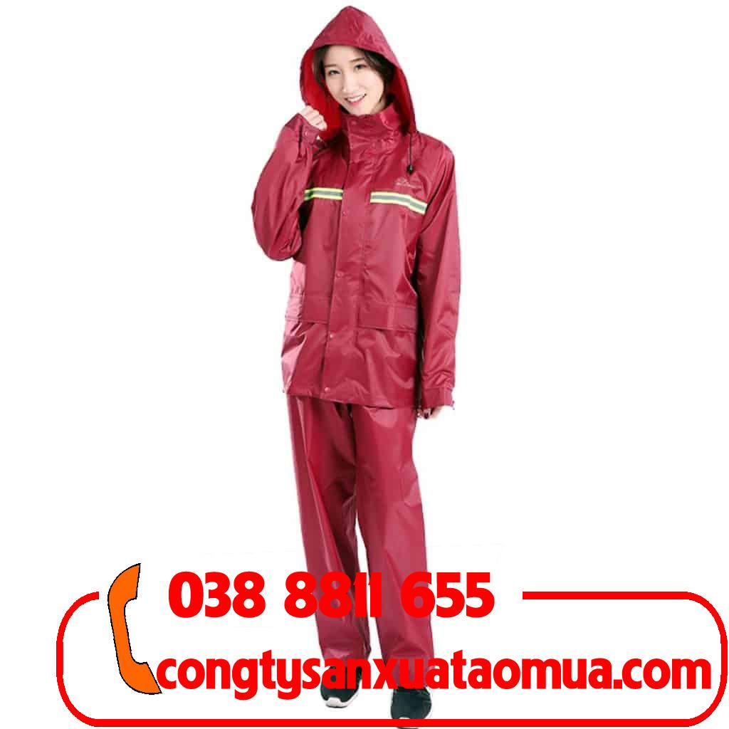 Xưởng may áo mưa bộ 1 lớp giá rẻ tại Hà Nội
