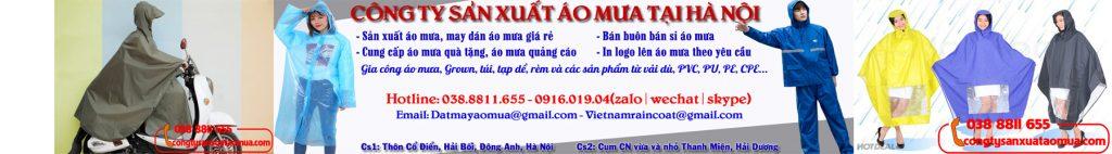 Xưởng sản xuất áo mưa tại Hà Nội