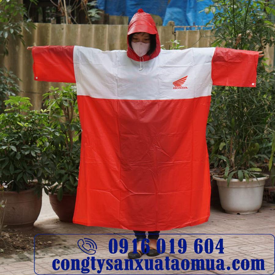 Sản xuất áo mưa PVc quà tặng quảng cáo thương hiệu