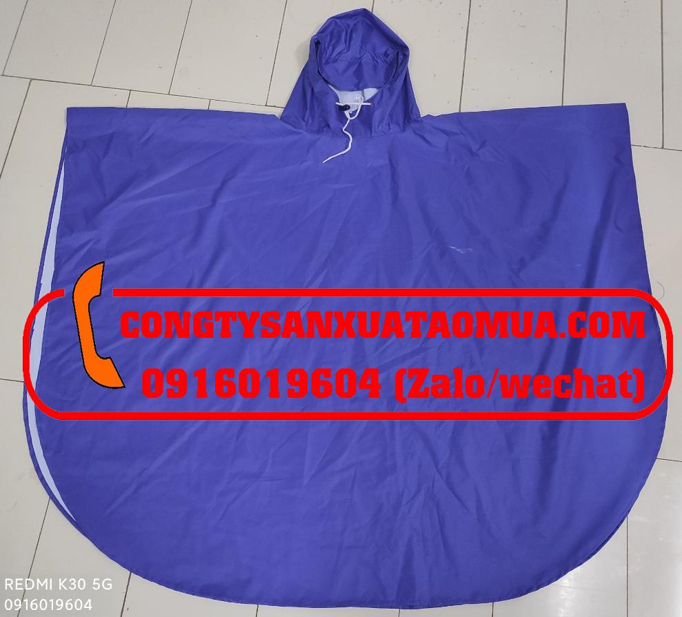 Sản xuất áo mưa choàng trẻ em