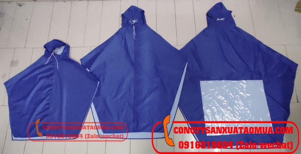 xưởng sản xuất áo mưa choàng người lớn, áo mưa choàng trẻ em tại Hà Nội