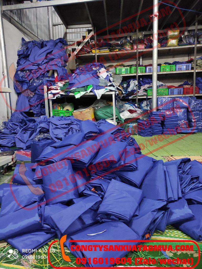 Xưởng sản xuất áo mưa tại Hà Nội - Địa chỉ đặt may áo mưa uy tín, tin cậy