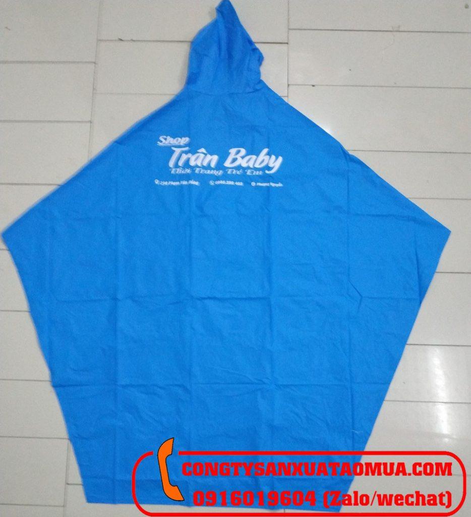địa chỉ đặt may áo mưa nhựa PVC giá rẻ