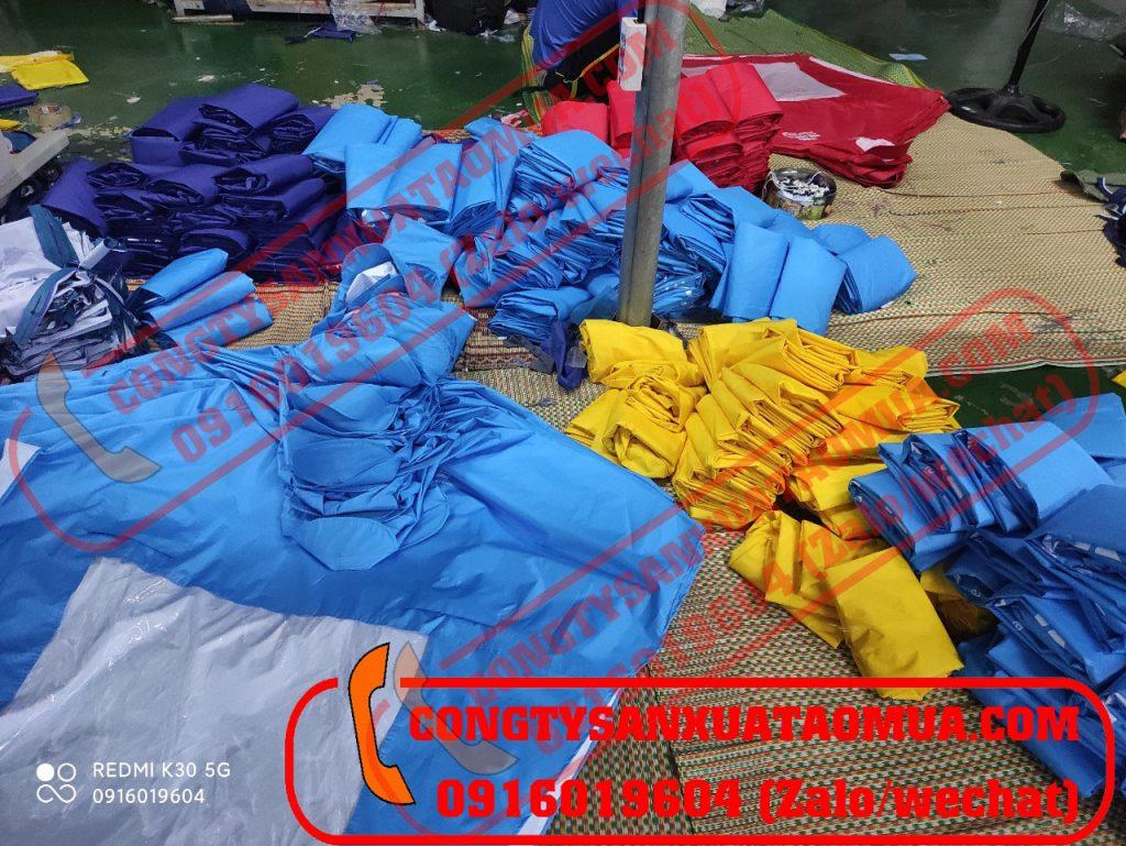 `Xưởng trực tiếp may áo mưa in logo tại Hà Nội - Địa chỉ đặt may áo mưa quà tặng uy tín, tin cậy