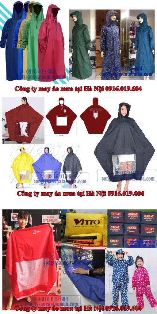 Nhận báo giá áo mưa, tư vấn áo mưa quà tặng, áo mưa quảng cáo mới nhất 2021 gọi 0916019604