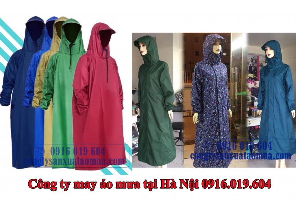 Công ty may áo mưa bít tại Hà Nội