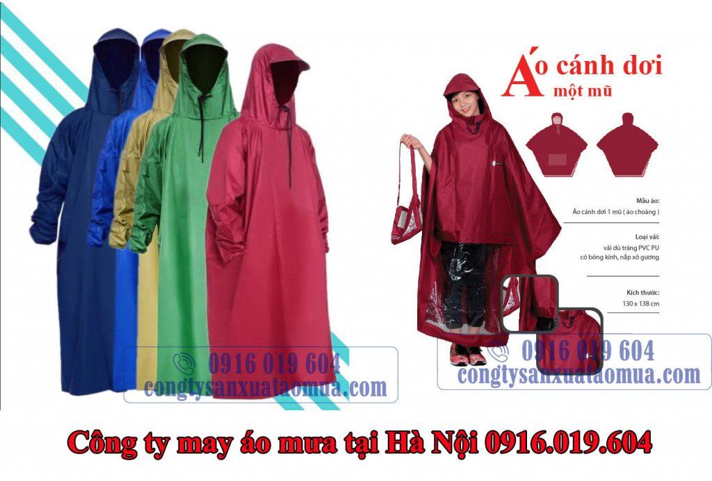 Công ty may áo mưa quà tặng tại Hà Nội