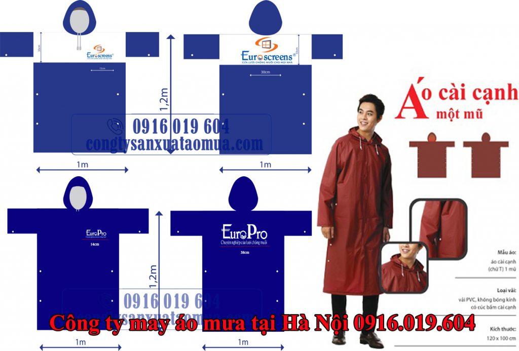 Công ty may áo mưa quảng cáo thương hiệu