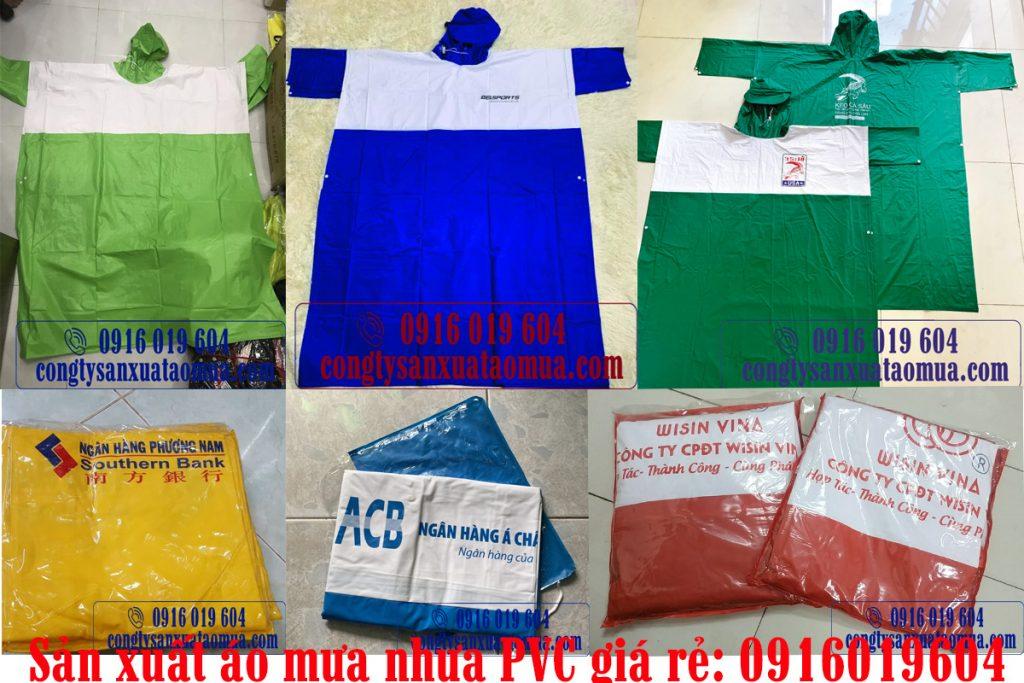 sản xuất áo mưa nhựa PVc giá rẻ tại Hà Nội